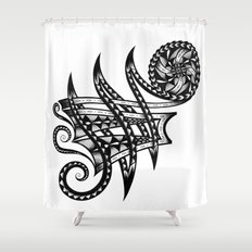 Shoulder Band Tattoo Shower Curtain