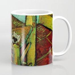 Van Gogh, Van Gogh's Chair – Van Gogh,Vincent Van Gogh,impressionist,post-impressionism,brushwork,pa Coffee Mug
