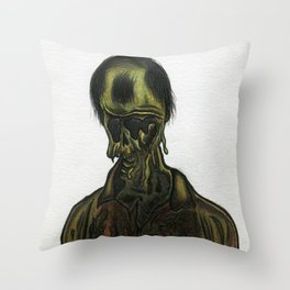 Decomposer Throw Pillow
