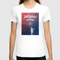 religious T-shirts featuring Religious Liberty by politics