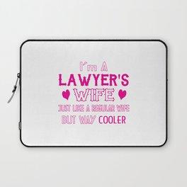 Lawyer's Wife Laptop Sleeve