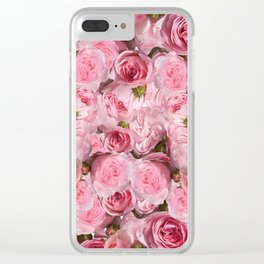 Carpet of flowers 4. roses Clear iPhone Case