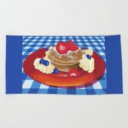 Pancakes Week 10 Beach Towel