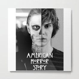 american horror storyy Metal Print