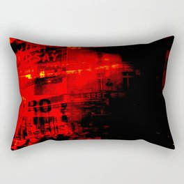 1st arrondissement-red2 Rectangular Pillow
