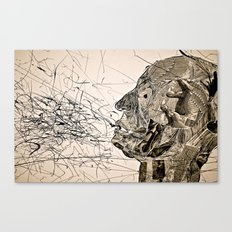 Penser : Expression. Canvas Print