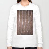 sand Long Sleeve T-shirts featuring sand by  Agostino Lo Coco
