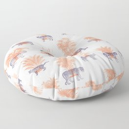 Where they Belong - Tigers Floor Pillow