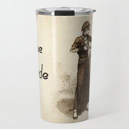 Levihan Bonnie & Clyde! AU Travel Mug