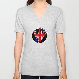 Britain Hand Unisex V-Neck