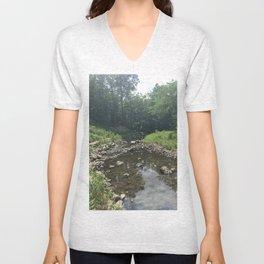 Waterfall Glenn Unisex V-Neck