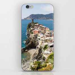 Vernazza, Italy Clinging to the Cliff iPhone Skin