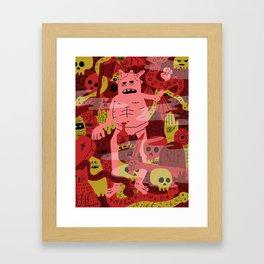 Full Dungeon  Framed Art Print