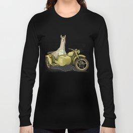 Sidecar Llama Long Sleeve T-shirt