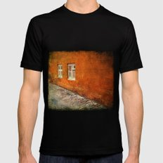 Double Windows X-LARGE Black Mens Fitted Tee