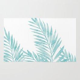 Palm Leaves Island Paradise Rug
