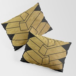 illusory (Black) Pillow Sham