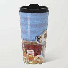 One Beagle, One Scotch, One Beer Travel Mug