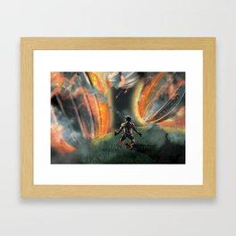 Fallen Sky Framed Art Print