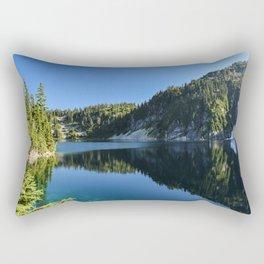 Snow Lake Rectangular Pillow