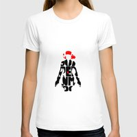 black widow T-shirts featuring black widow by Rebecca McGoran