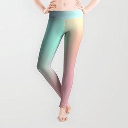 The optimistic  Rainbow Gradient Leggings