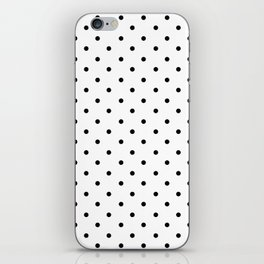 Dotted (Black & White Pattern) iPhone Skin