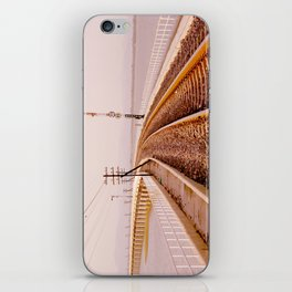 The Long Bridge Run Across The Dam iPhone Skin