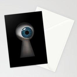 Keyhole Bath Mat, Peeking Keyhole Rug, Big Brother Is Watching Bath Mat Gift, Peep Hole Funny Bath Mat Stationery Cards