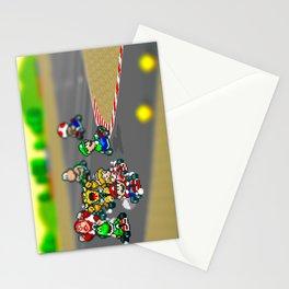 Mario Circuit Stationery Cards