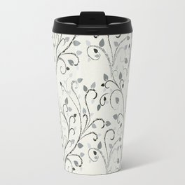 Contrast leaf art Travel Mug