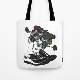 Life in These Boots Tote Bag