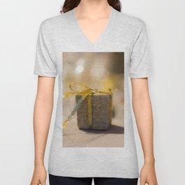 Gold gift Unisex V-Neck