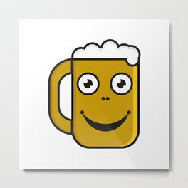 Beer party  #society6 #decor #buyart #artprint Metal Print