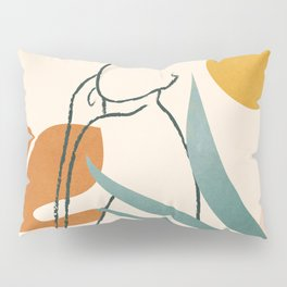 Minimal Line in Nature III Pillow Sham