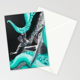 Octo-Surf Stationery Cards