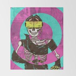 Virtual Dead Reality Throw Blanket