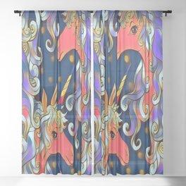 Unicorns Sheer Curtain