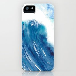 Dwell Watercolor Wave  iPhone Case