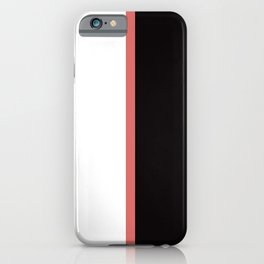 Juve 19/20 Home iPhone Case