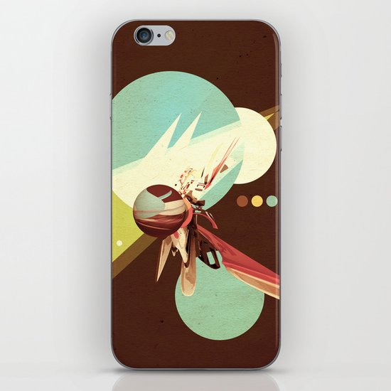 Vintage Space Poster Series I - Explore Space - It's Fun! iPhone & iPod Skin
