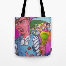 Ice Cream Man Tote Bag