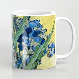 1890-Vincent van Gogh-Irises-73,5x92 Coffee Mug