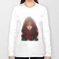 red hood Long Sleeve T-shirts featuring Red Hood by D'Frikki