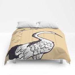 Sakura Crane Comforters