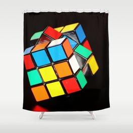 Rubik's cube Shower Curtain