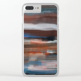 Southwest Mornings Clear iPhone Case