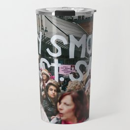 A Very Small Protest. Travel Mug