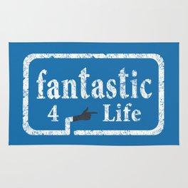 Fantastic 4 Life Rug