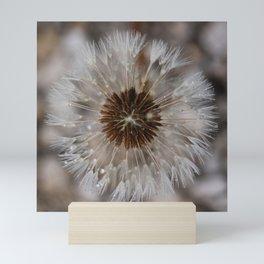 Dandelion camoflage Mini Art Print